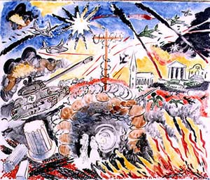 Mural 4: My Metaphors, Myself