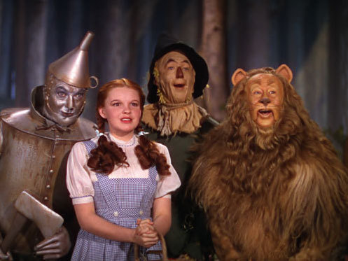The Wizard of Oz characters reflect four different relational patterns.