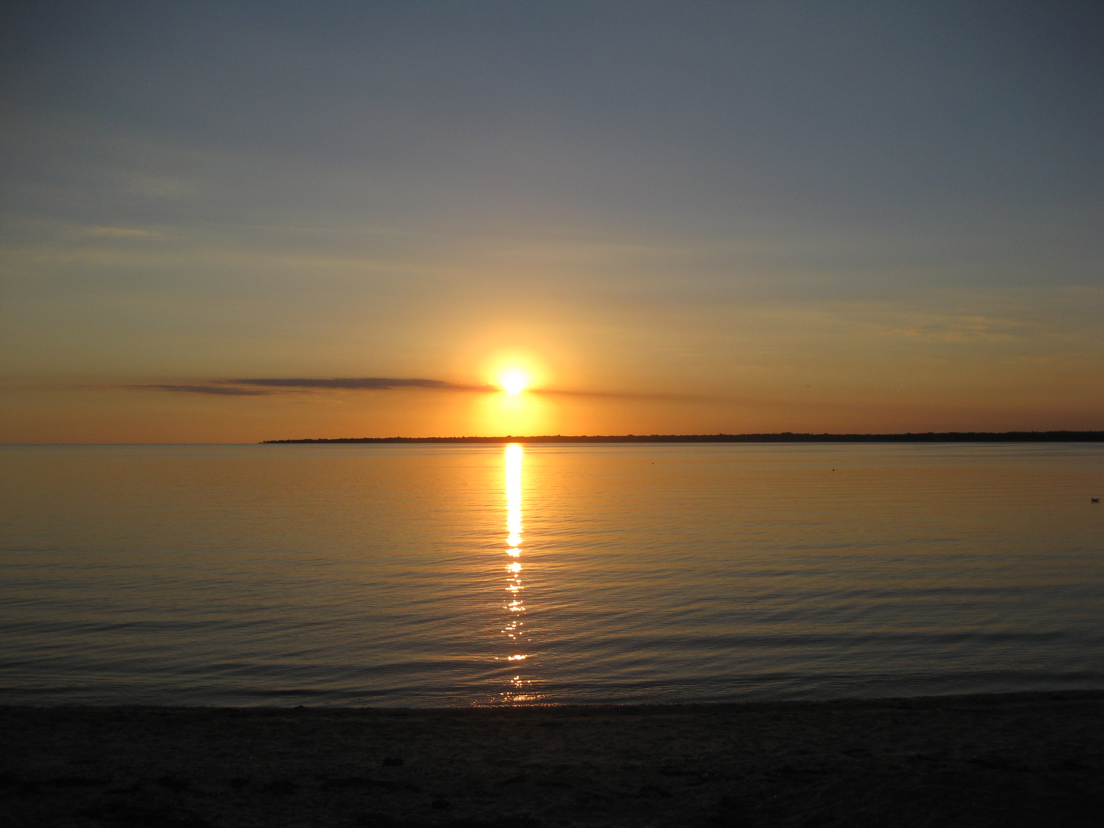 Sunset on the bay.JPG