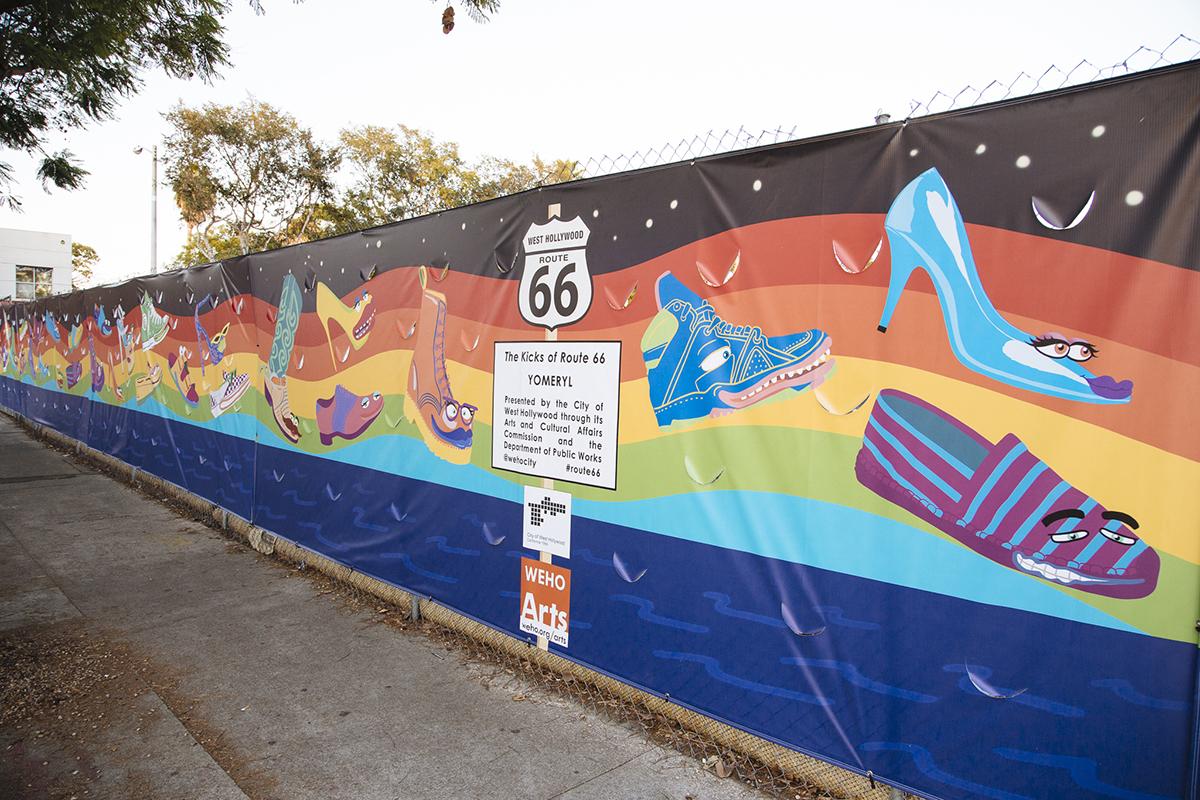 YoMeryl Mural on Havenhurst