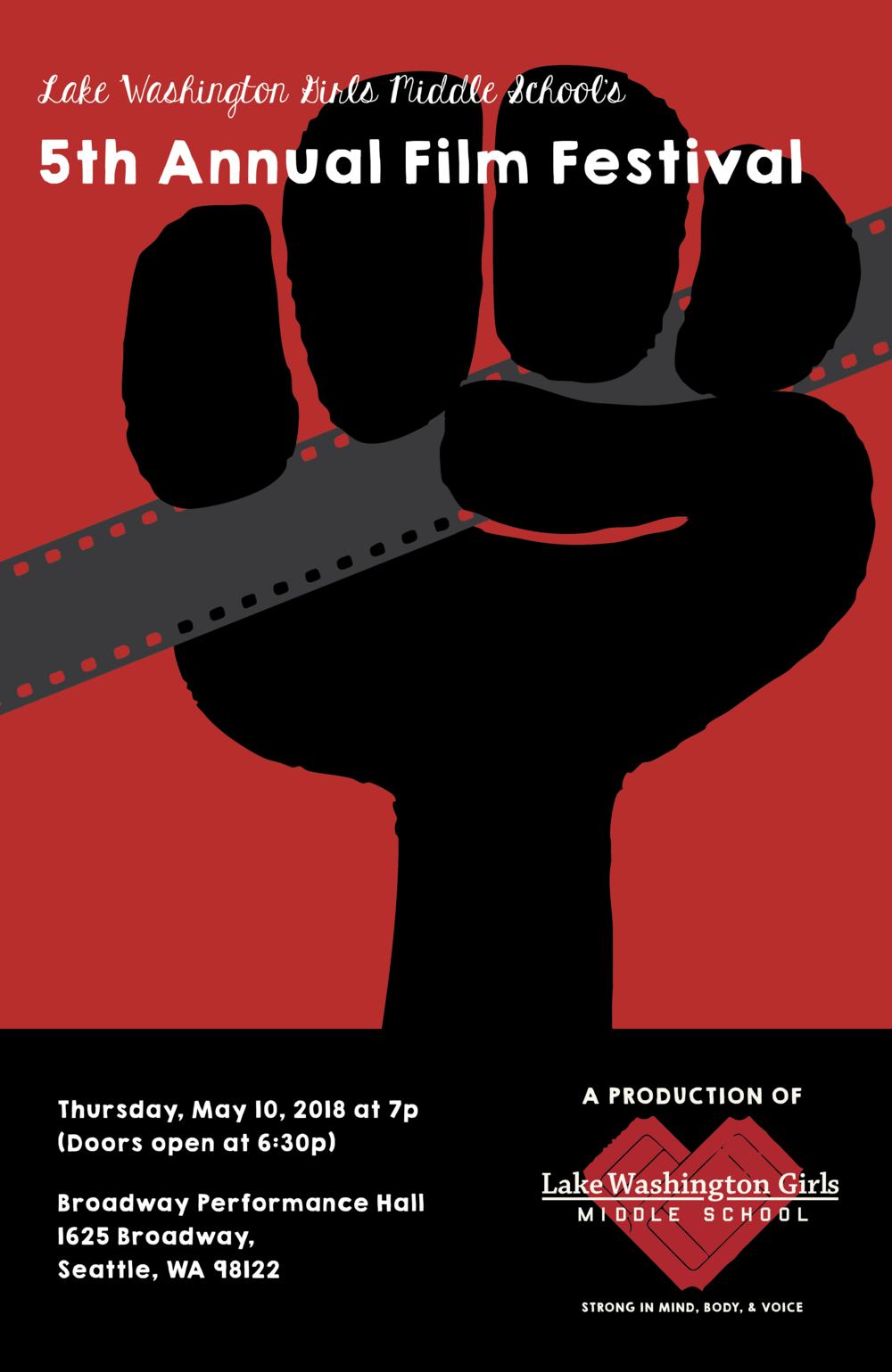 LWGMS Annual Social Justice Film Festival.