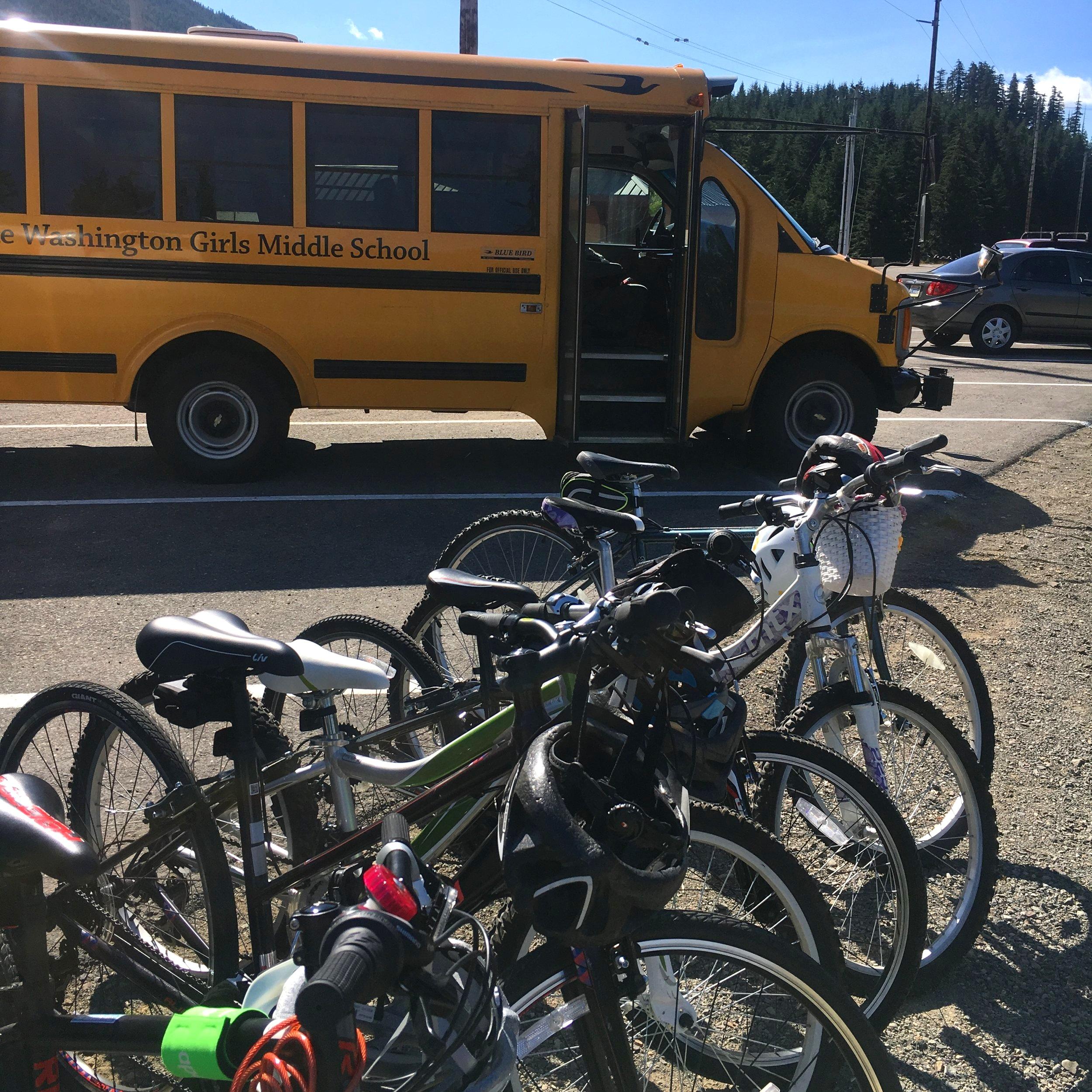 Lake Washington Girls Middle School Bike Camp 2019
