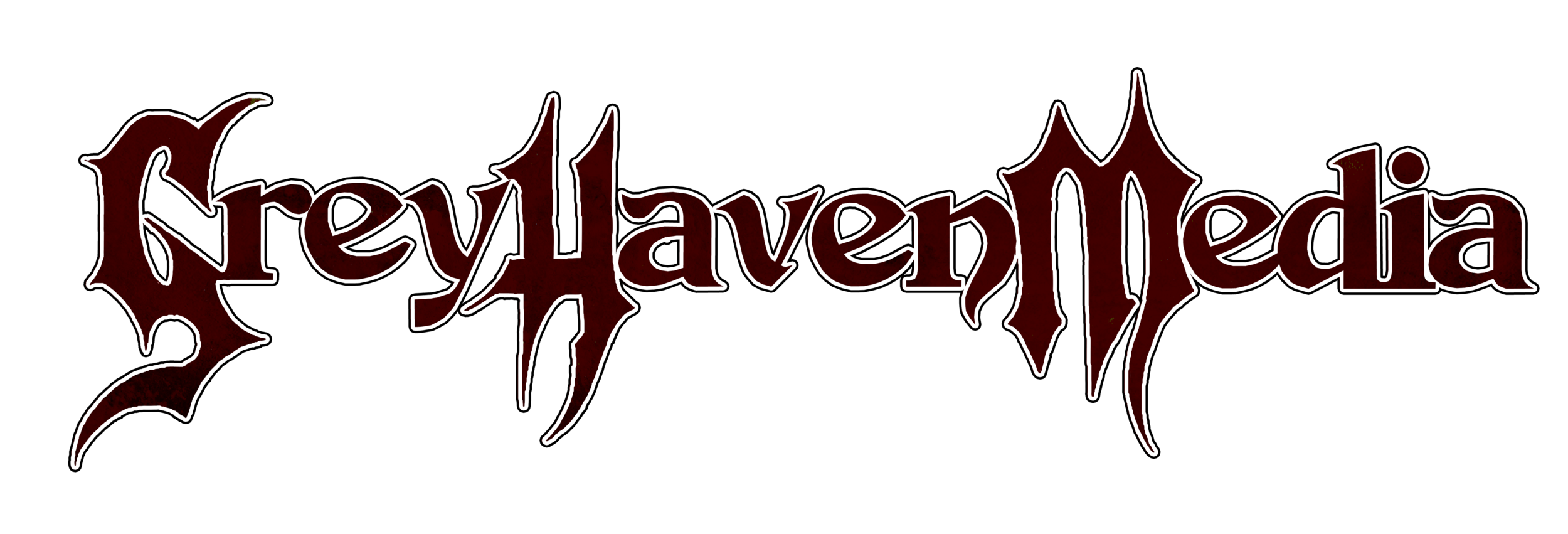 Grey Haven Media Logo Red