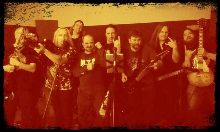 Left to Right: The Underbishop, Tony Sonic, Brad Hull, Jerry Ziegler, Jamie Carter, Jay Clark, Dean Babbitt, Eric Close, Russ Stefanovich