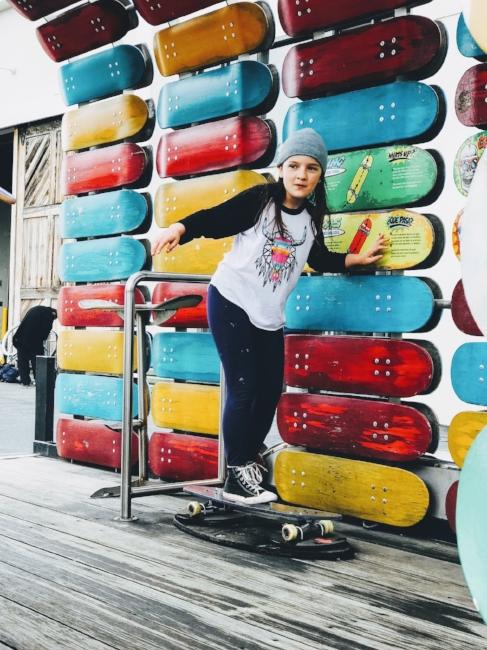 Spoonie Travel San Francisco  Embarcadero Skateboard