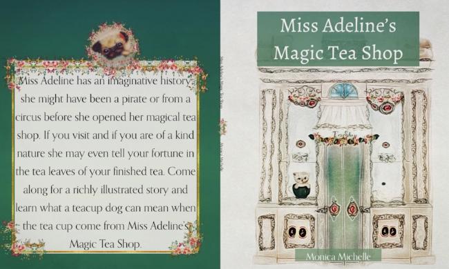 Miss Adeline Kidlit Book Cover Made on IPad Pro