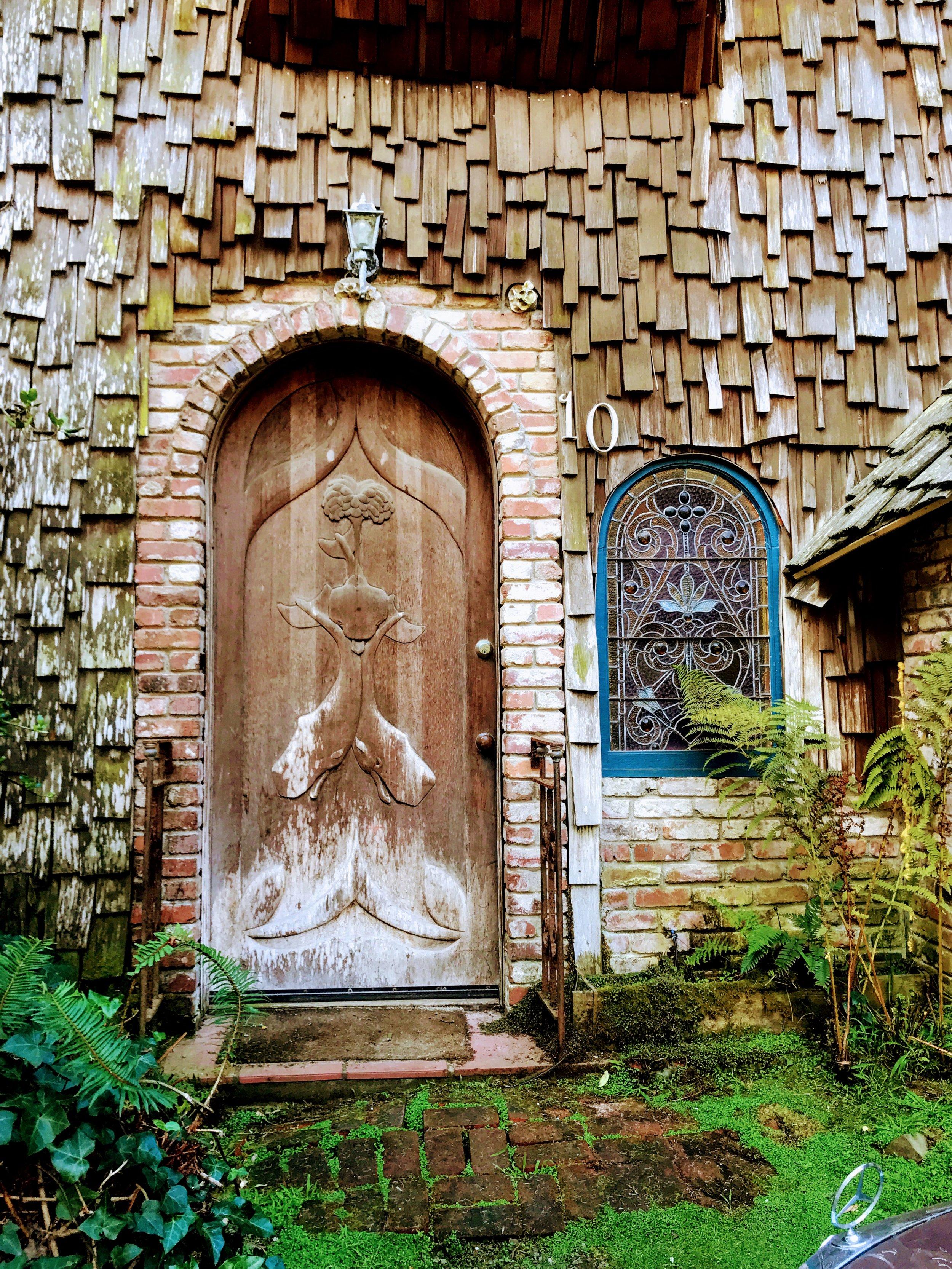 Twin Carved Whale Door Las Bolinas: Chronic Illness Blog