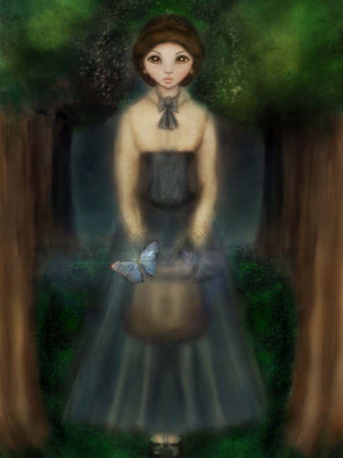 Governess In The Woods Character Design YA Fantasy Novel