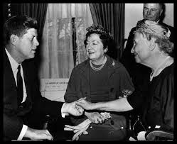 Helen Keller and JFK