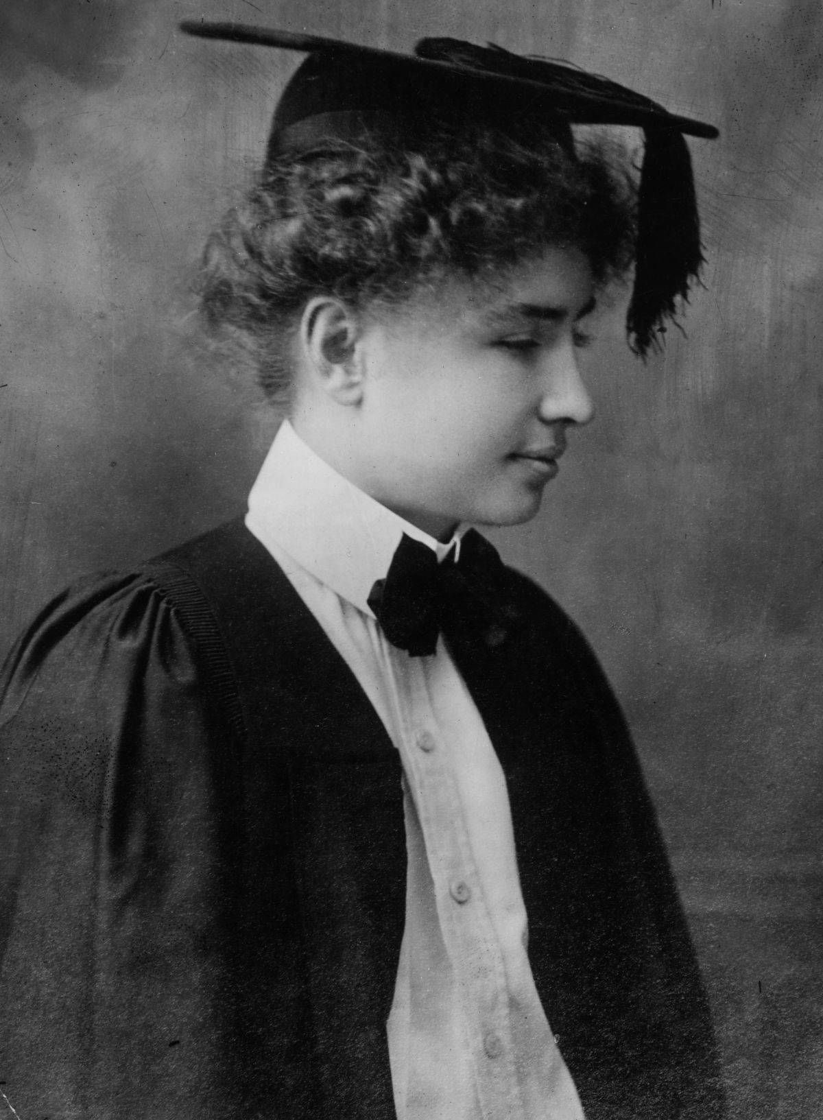 Helen Keller Graduates from College