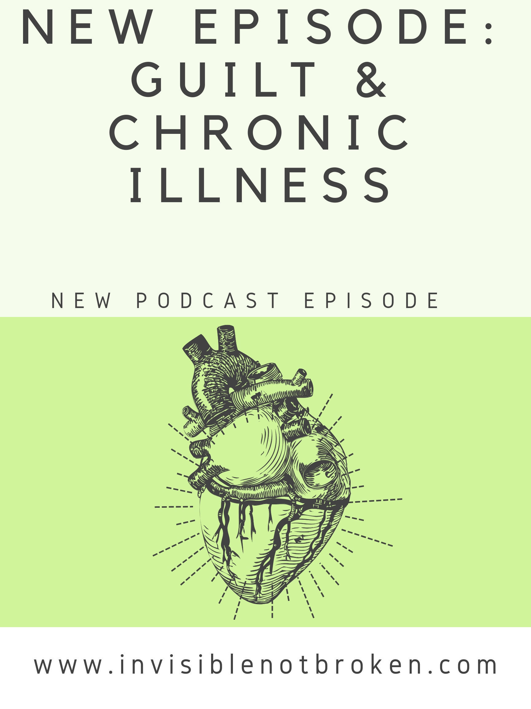 New Chronic Illness Podcast Episode: Guilty Party: Guilt and Chronic Illness Featuring Monica Michelle and Kyros Starr