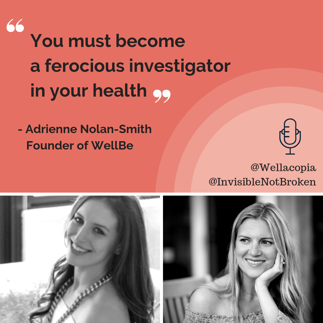 Wellacopia Interview with Adrienne Nolan-Smith