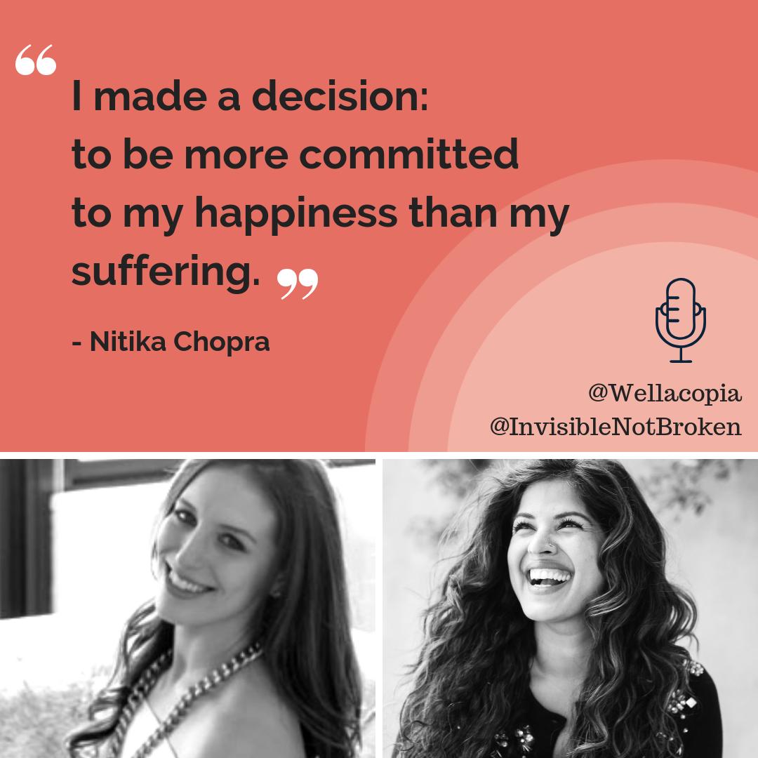 Wellacopia Interview with Nitika Chopra