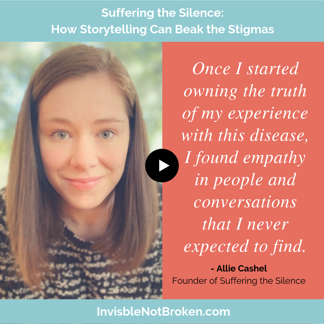 Suffering the Silence: How Storytelling Can Break the Stigmas