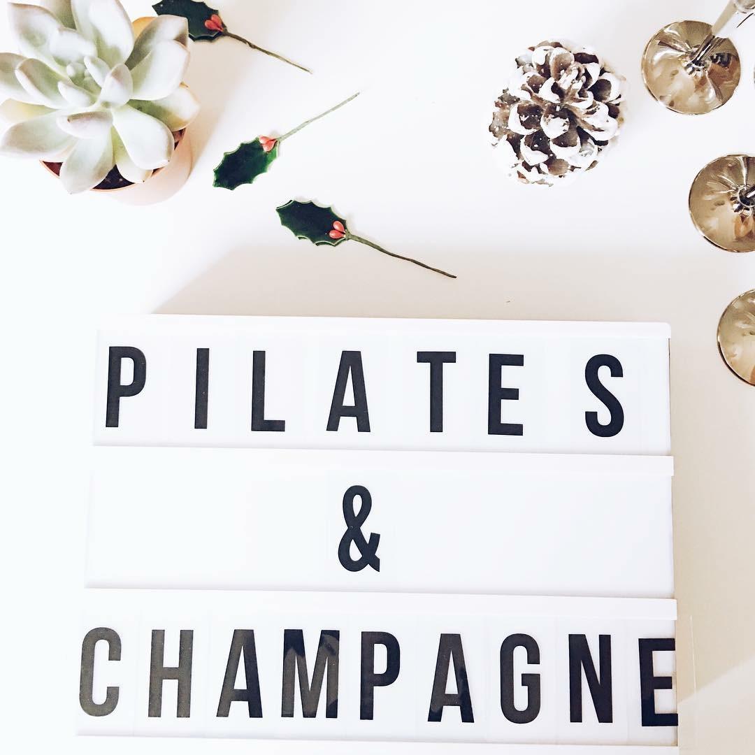 <b>Pilates & Champagne</b> <br>December, 2015