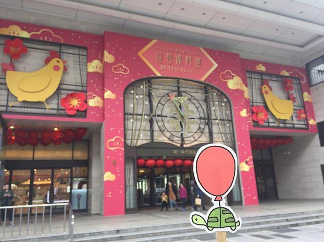 chickens on a building! #oaklets #littleoakletstraveltheworld