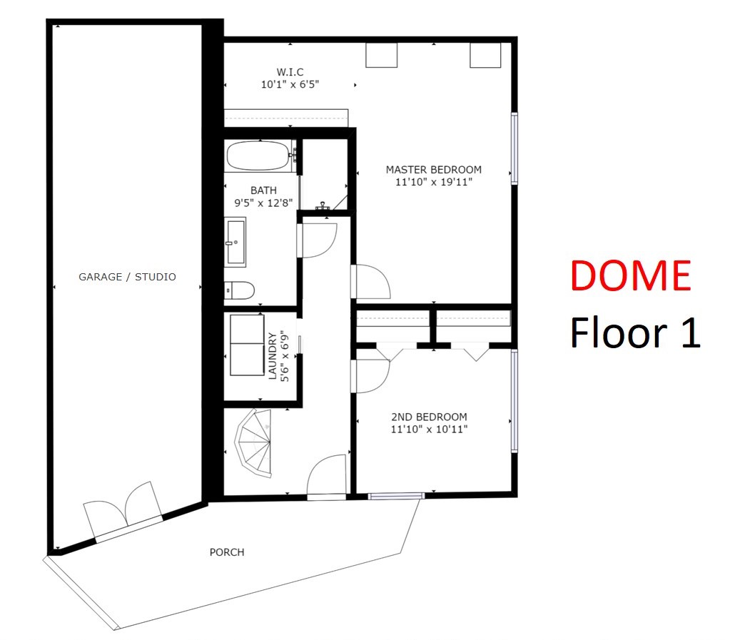 1371 - Floor plan DOME FLOOR 1 (NO GARAGE).jpg