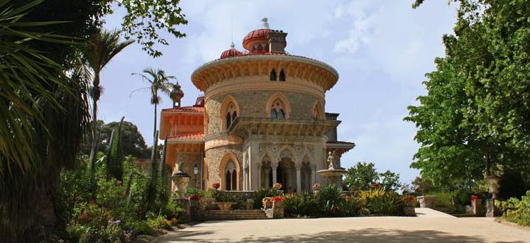 Arabic Inspired Palacio de Monserrate in Sintra