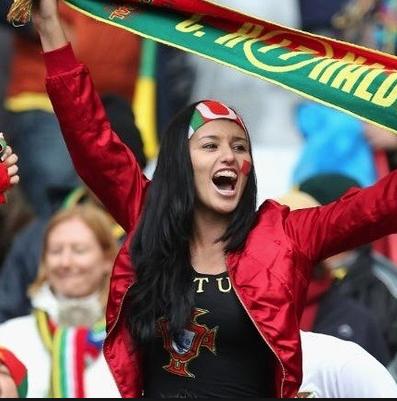 Portuguese love their soccer