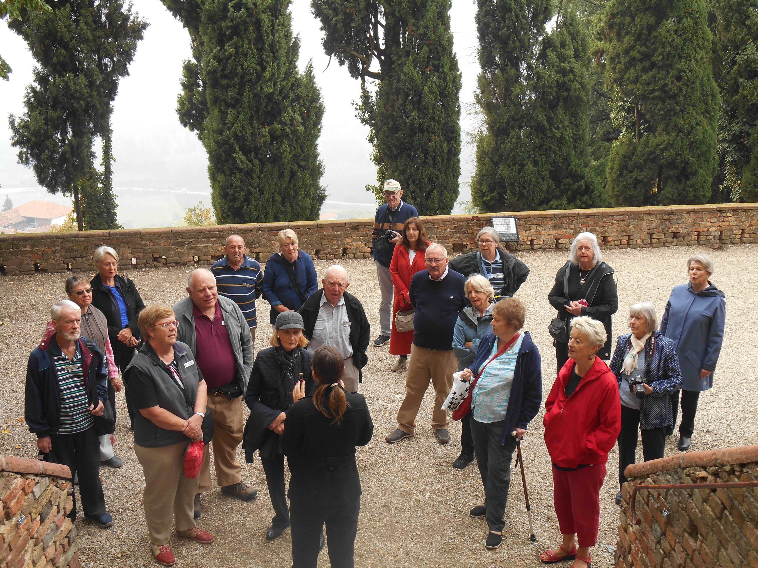 2018 'Enchanting Italy Uncovered' Group