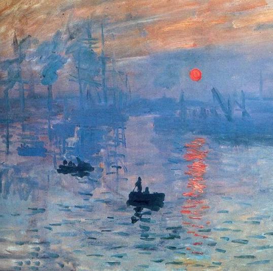 Monet's Impression Sunrise