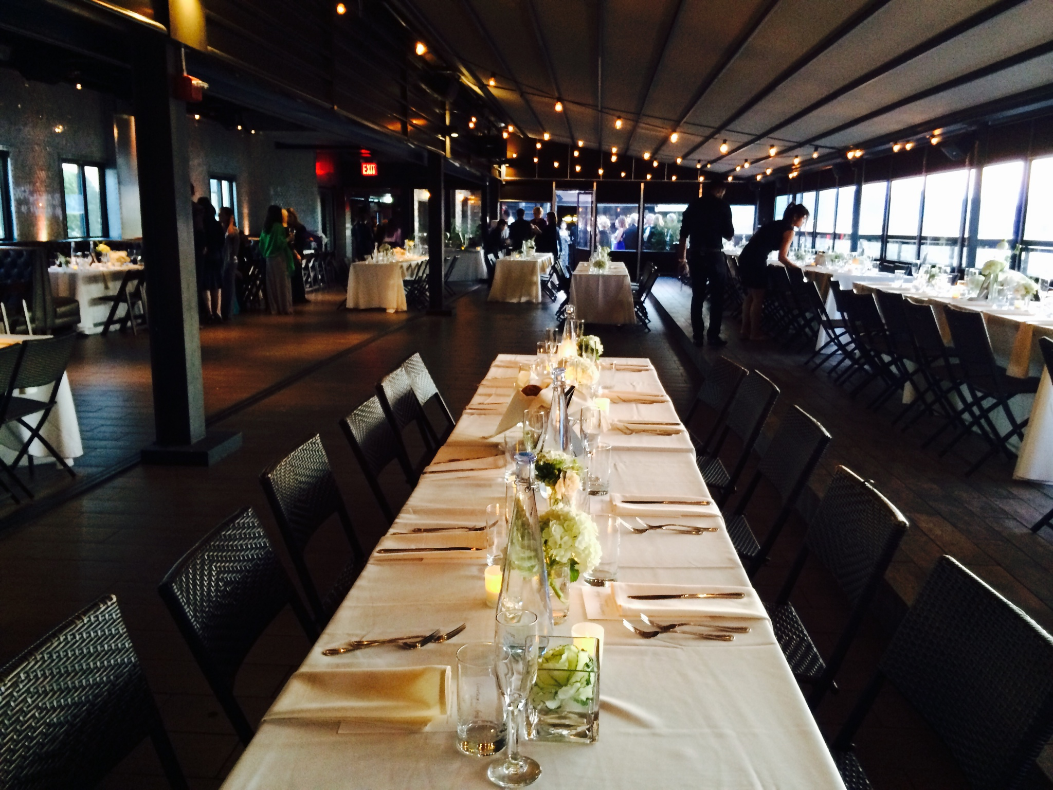Courtney & Andy's Wedding, Penthouse 808, Long Island City