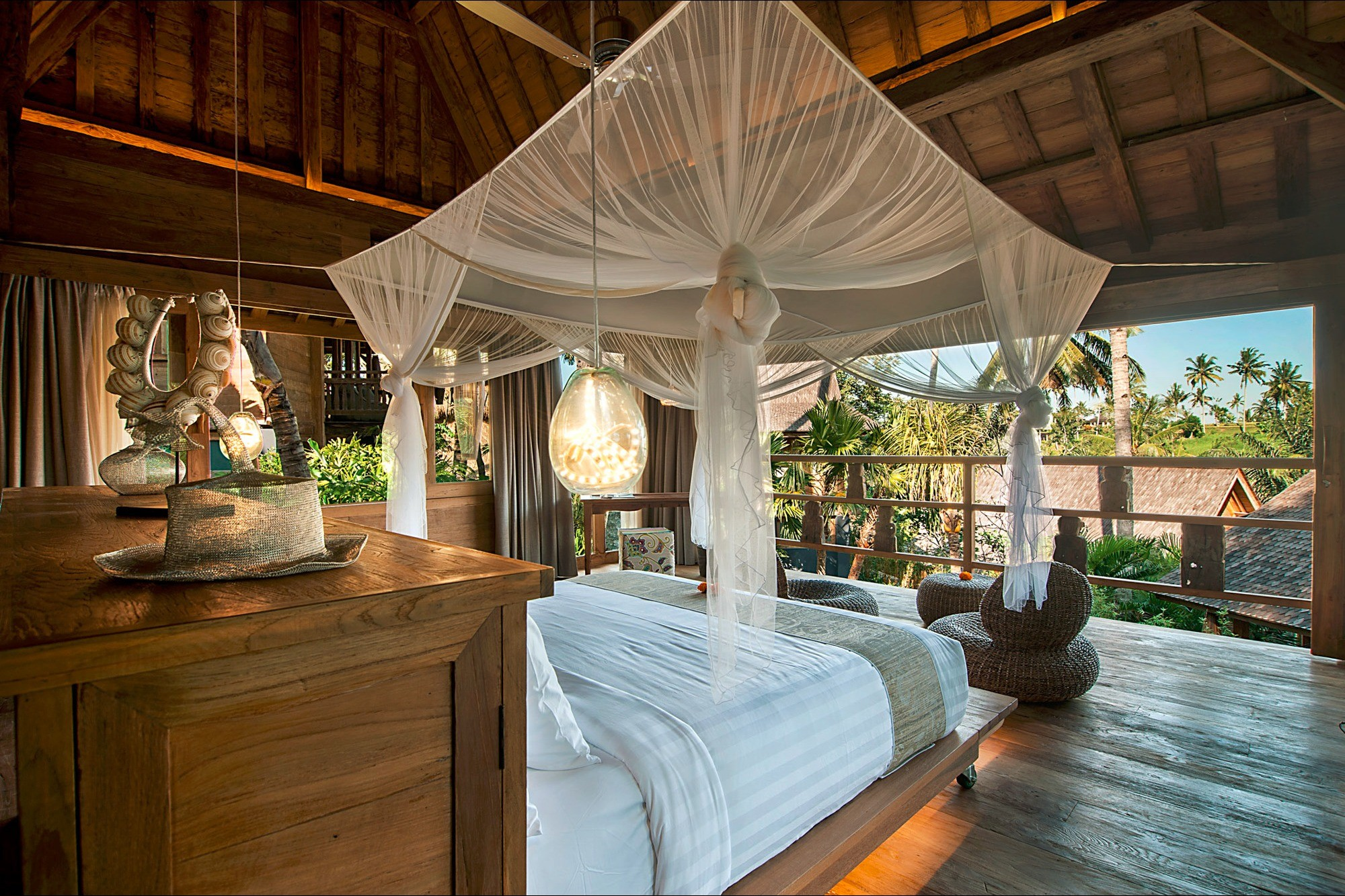 REST - Rest in your tranquil suite set amongst tropical gardens.