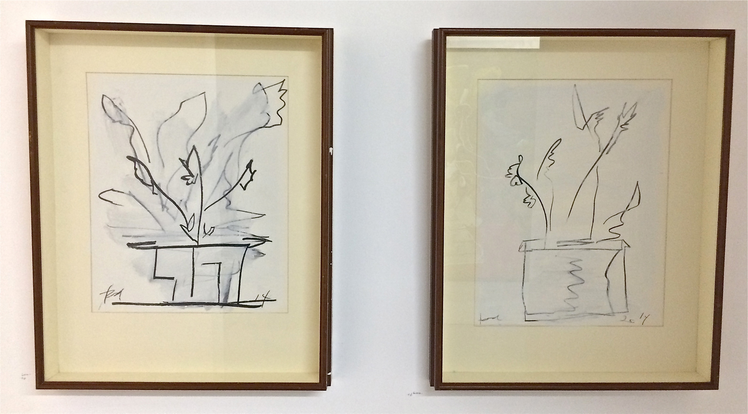 works on paper, 2014