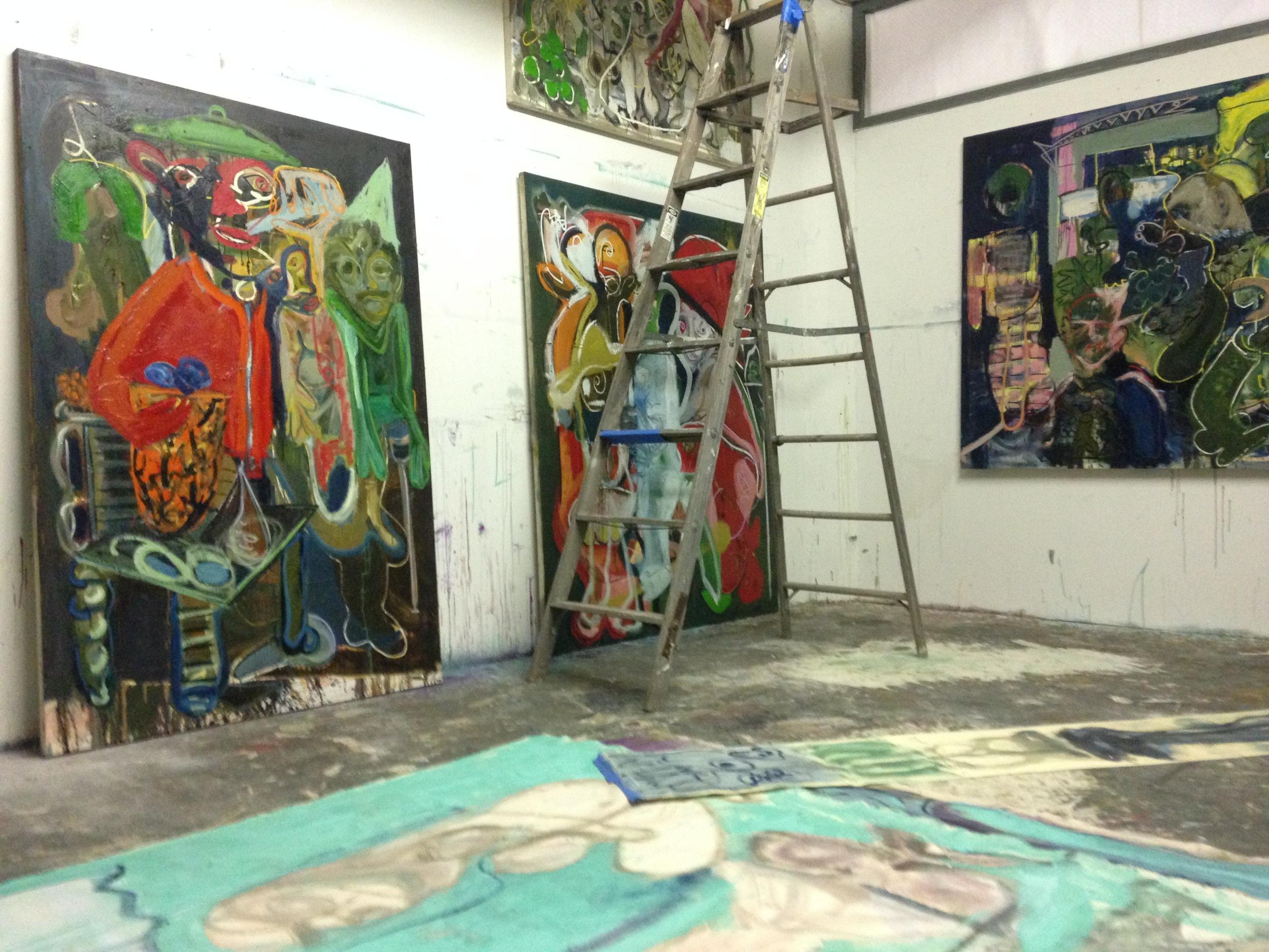 Summer St Studio  June 2015