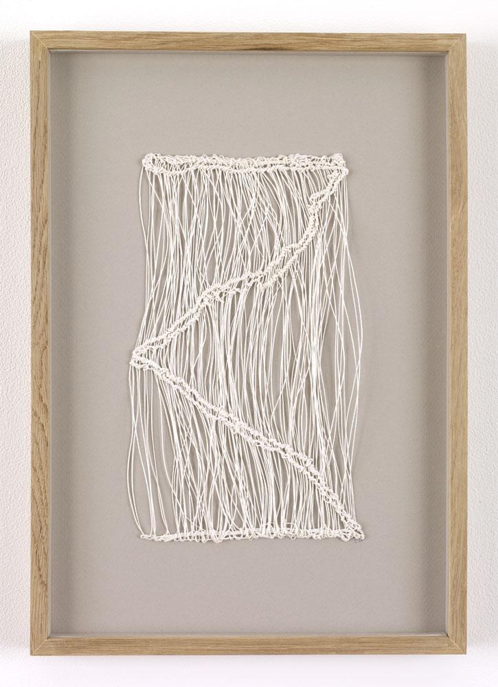 Sheila Hicks,  Isadora , 1988 at Sikkema Jenkins Co., New York