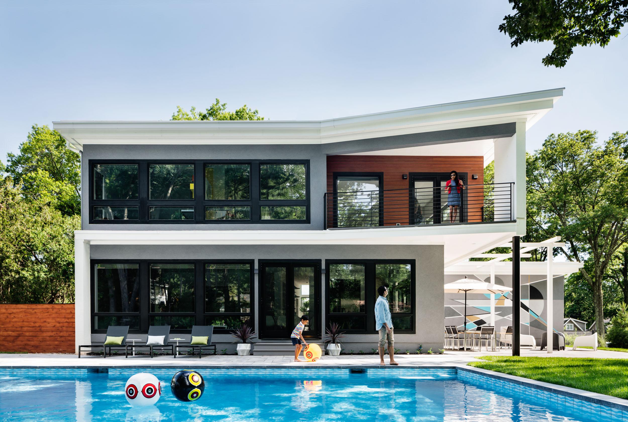 Roslyn Road Ridgewood, NJ Z+ Architects