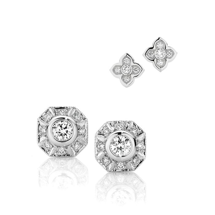Ophelia & Tatiana Diamond Earrings