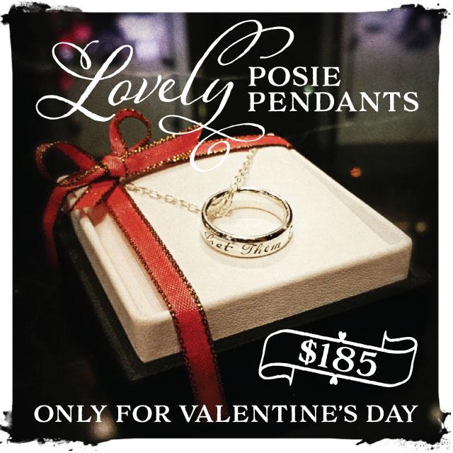 ValentinePosiePendant