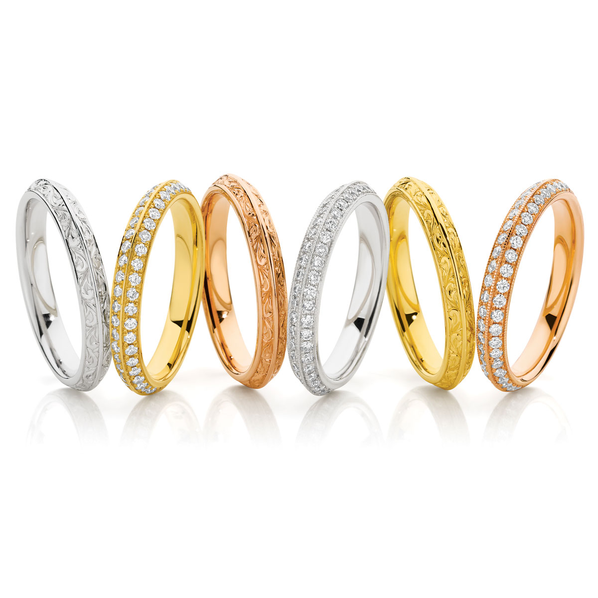 Silk Road Wedding Bands