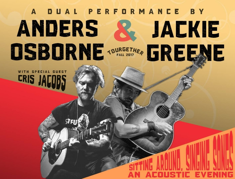 """Tickets for all 'Tourgether"""" show are available  HERE !   """"Jackie and I met through playing with Phil Lesh, and I distinctly remember that I was immediately blown away by his talent and musical sensibility. I try to make music with Jackie as often as I can."""" ~ Anders"""