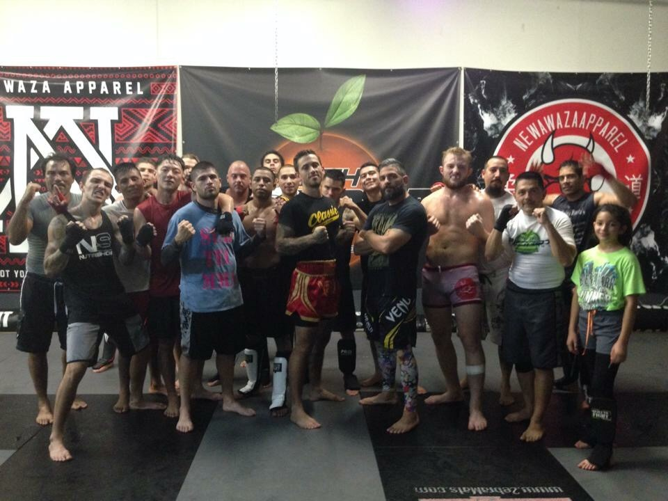 Classic Fight Team at 10th Planet Costa Mesa
