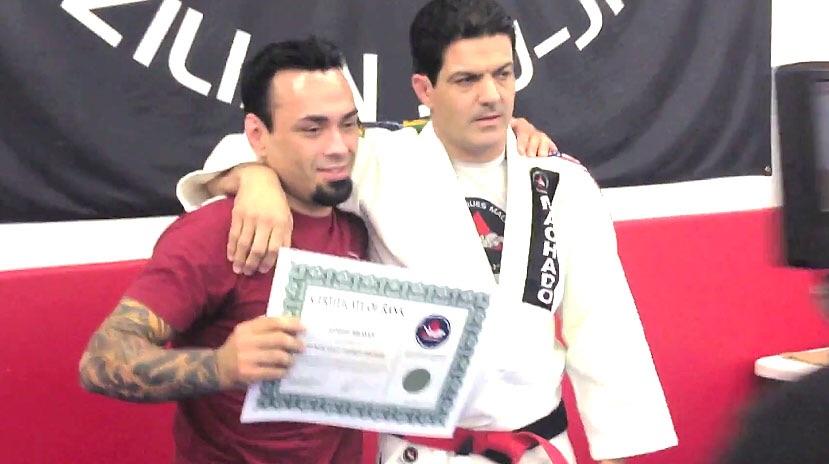 Master Eddie with Master JJ Machado
