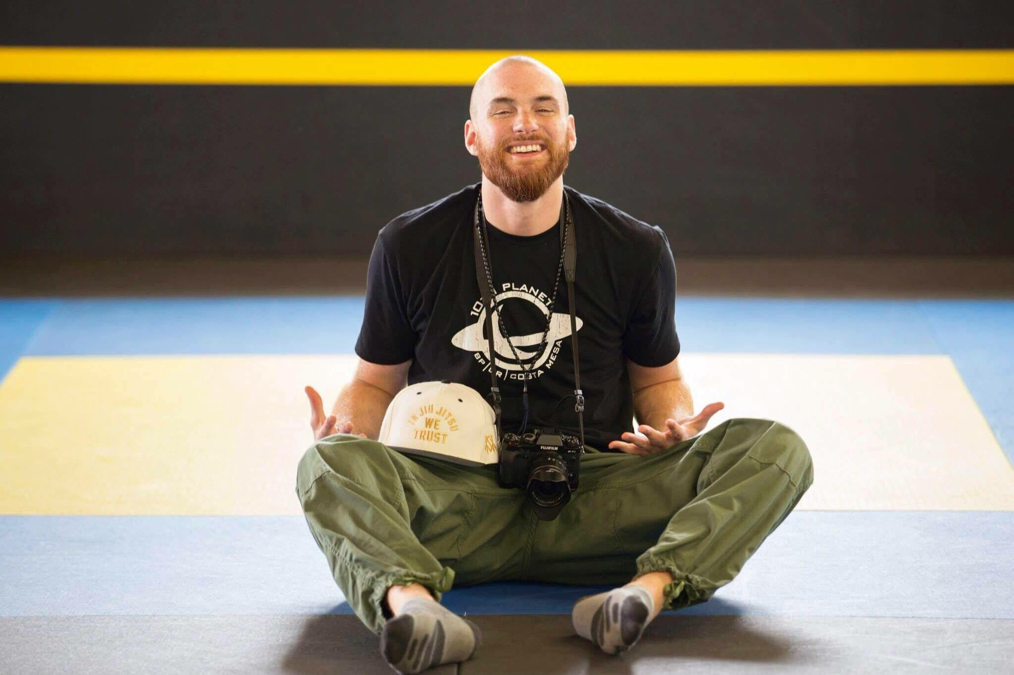 Jesse Bell working for Dream BJJ Tournaments