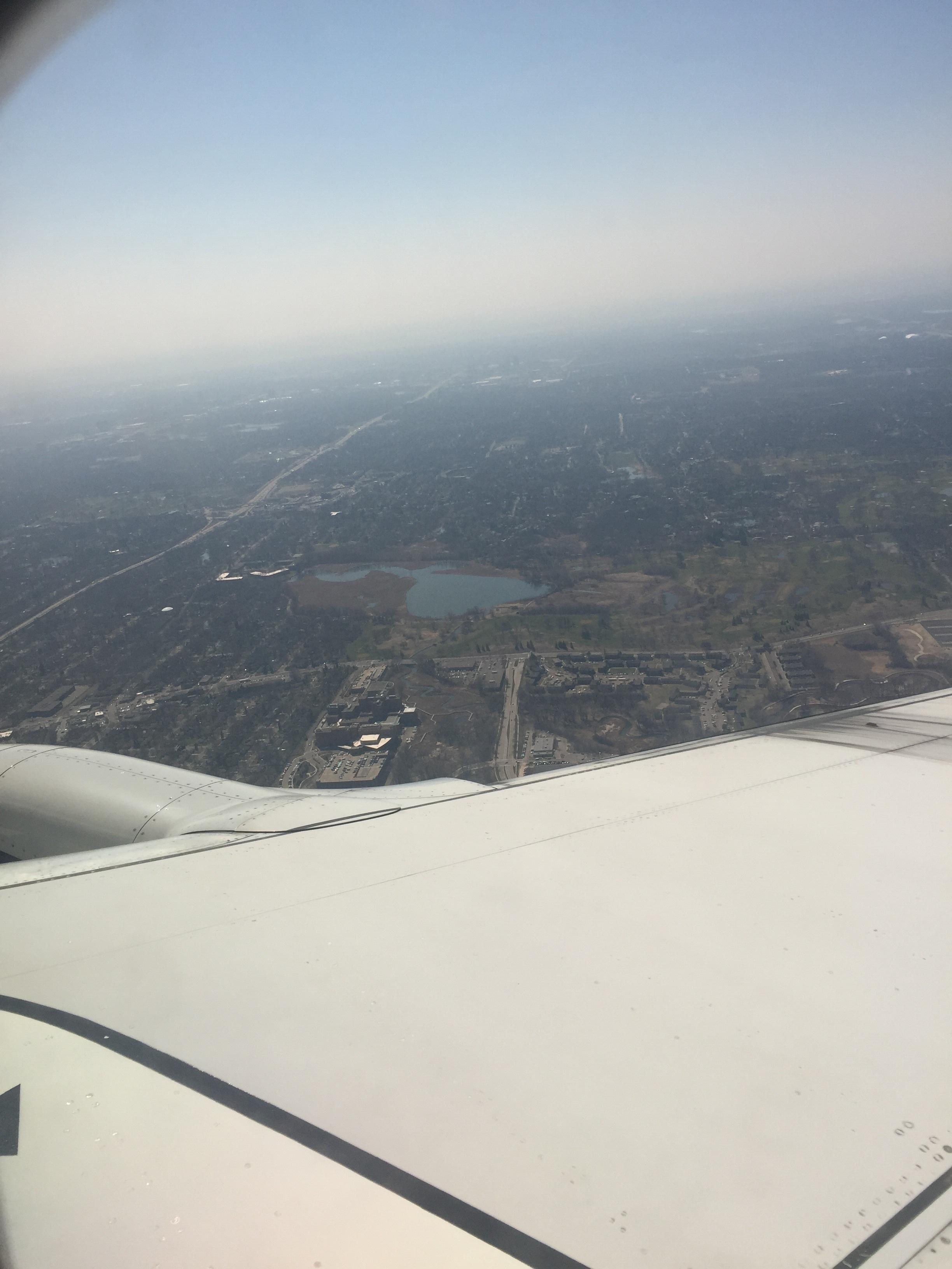 Somewhere over Minnesota