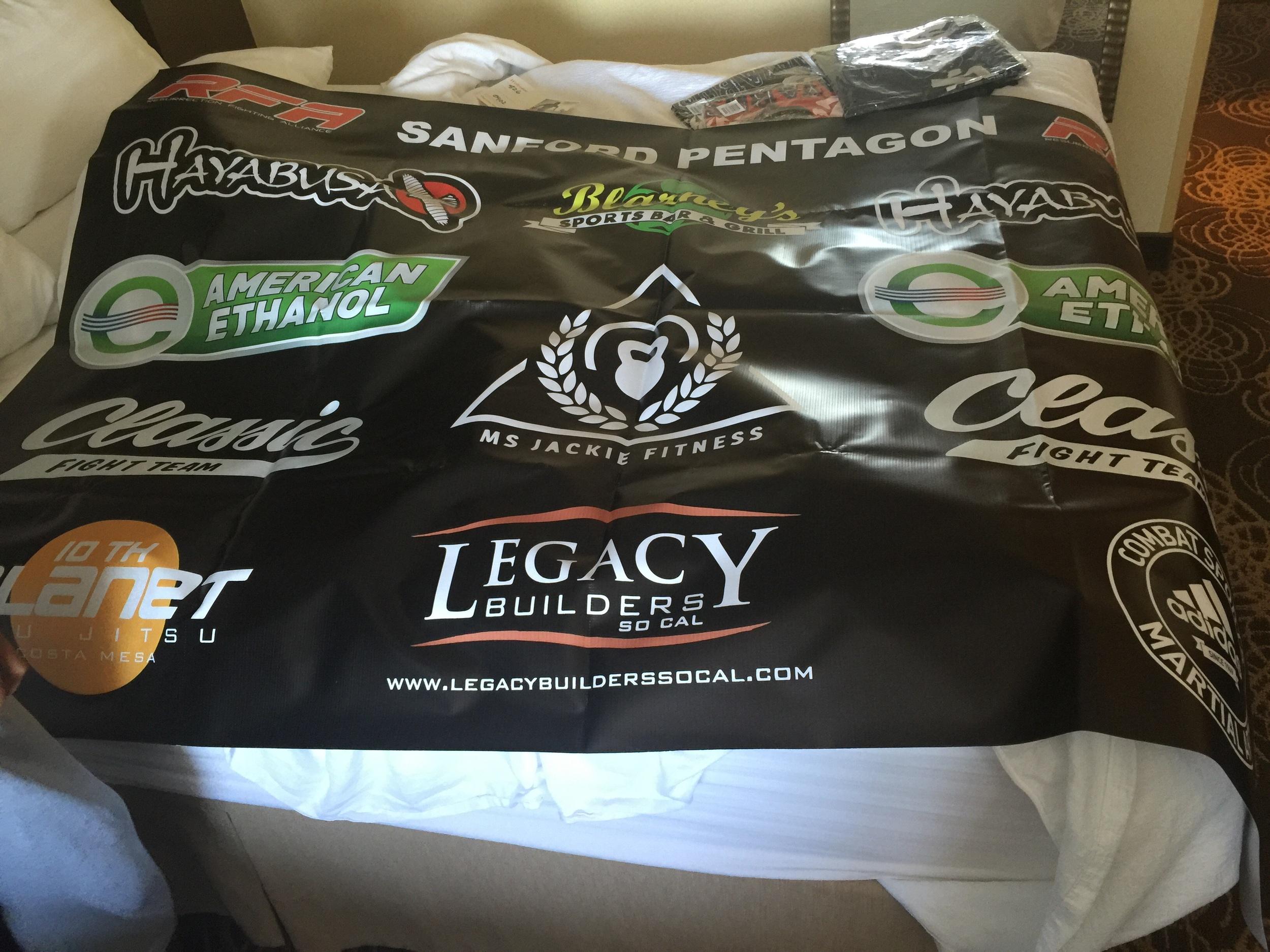 Matthew Lopez fight banner