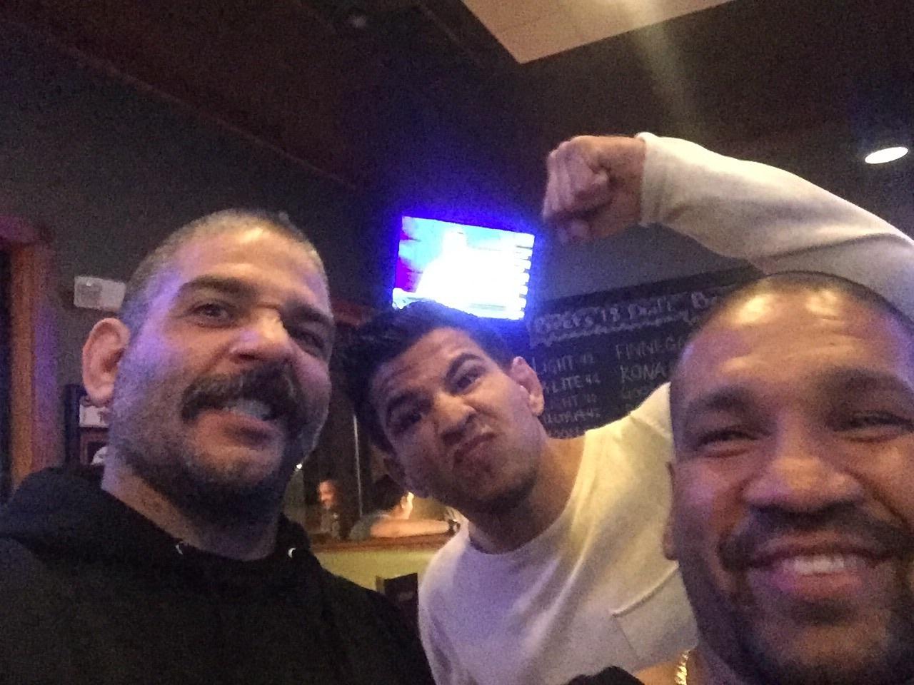 Casey Halstead, Matthew Lopez and Danny Perez
