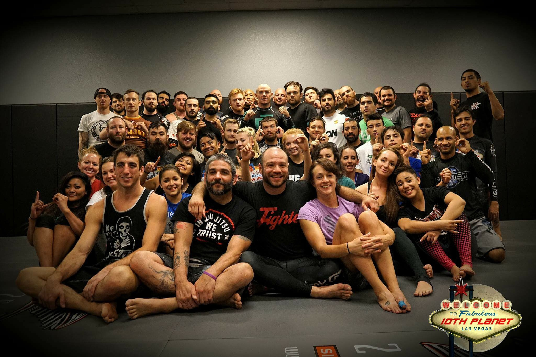 Brandon's seminar at 10th Planet Las Vegas