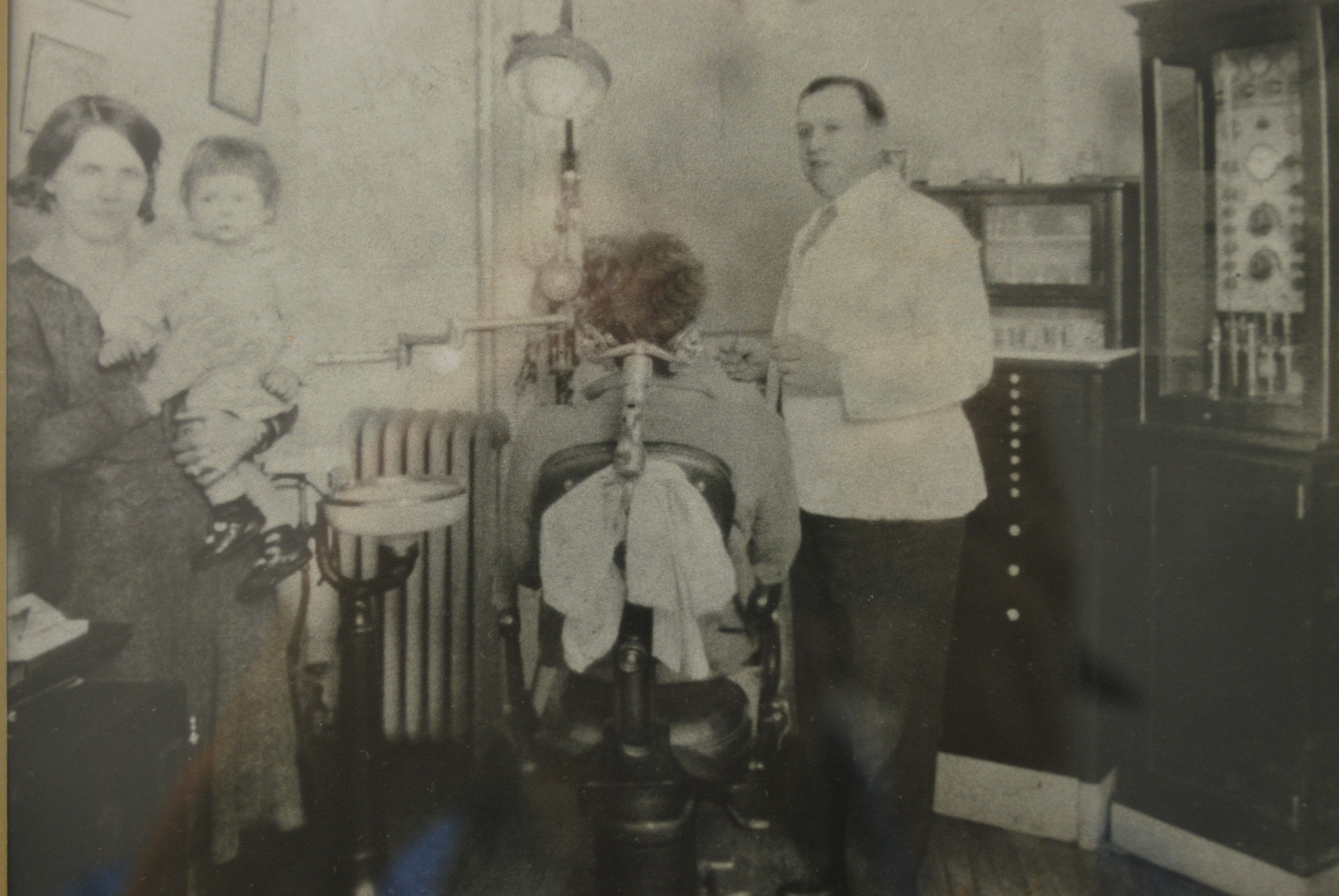 Dr. Hobart McKinley Patterson and wife, Nina with son George