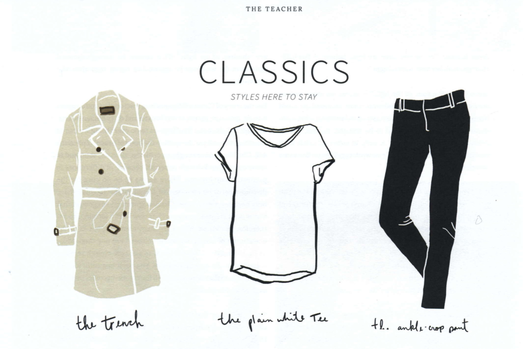 Classics: Styles Here to Stay  Tapestry
