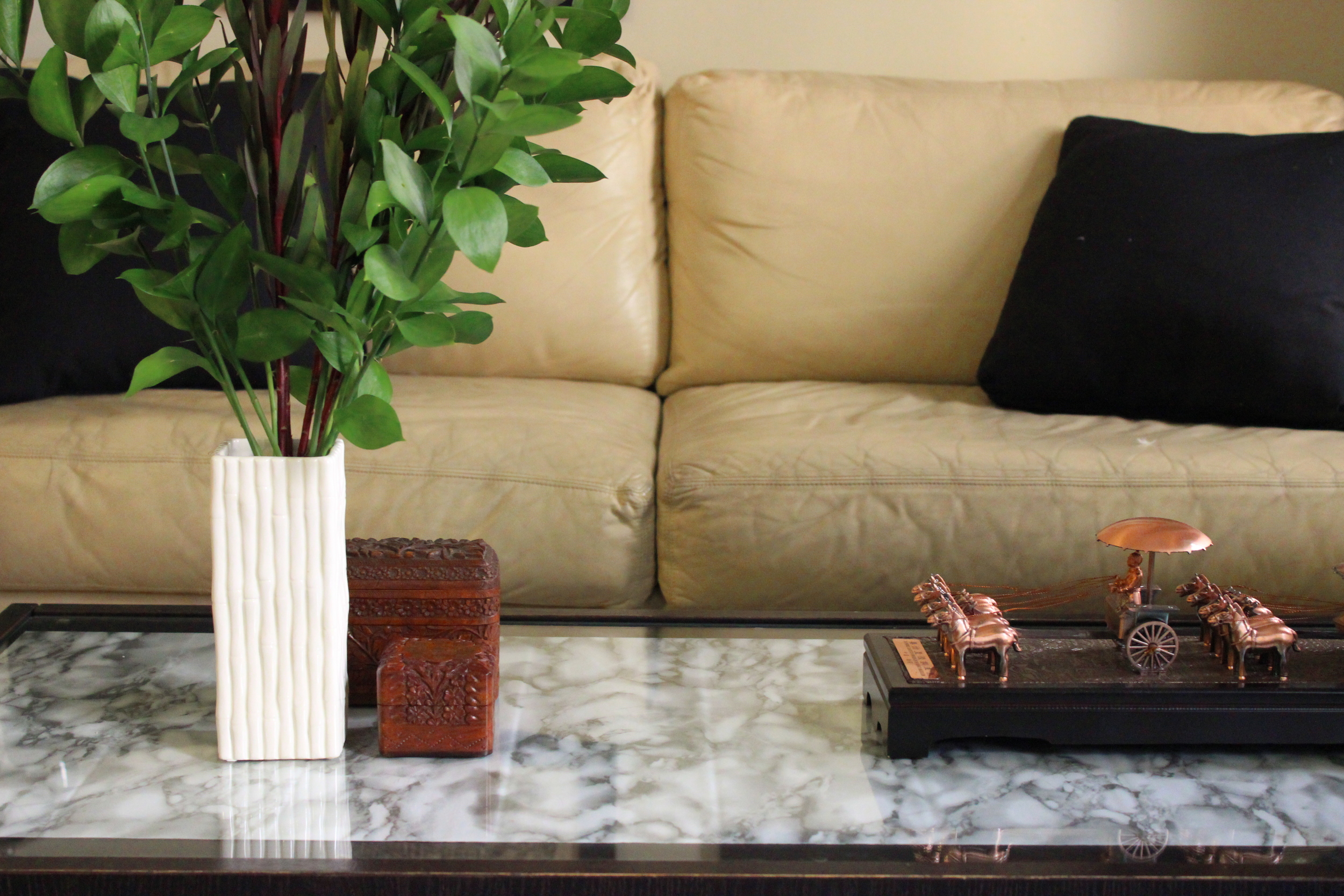 M S B Easy Diy Coffee Table Revamp Four Ways Once Future Home