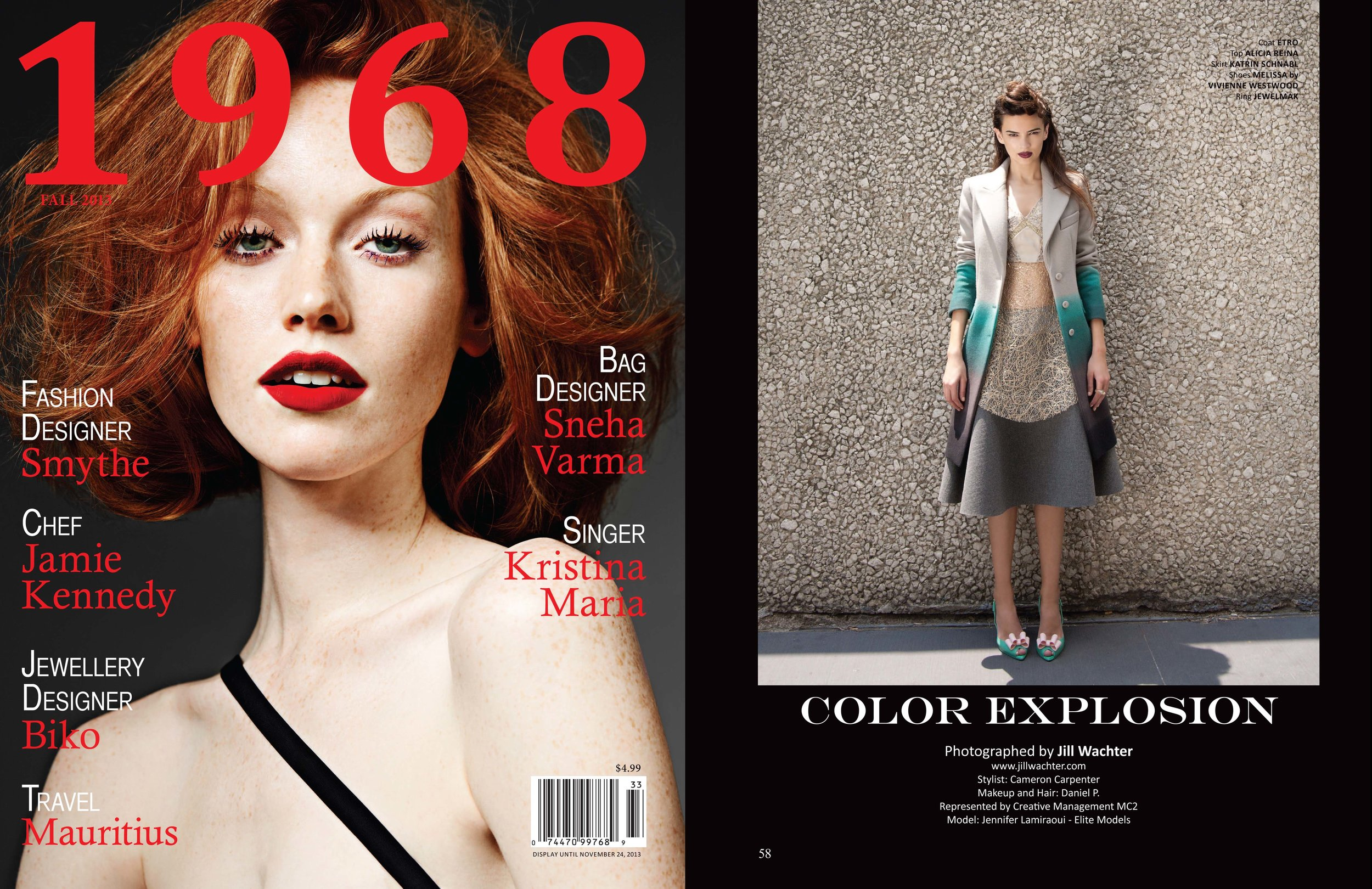 1968 Magazine  - Color ExplosionFall 2014