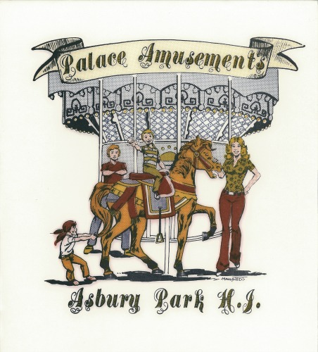 Palace Amusements Shirt Transfer