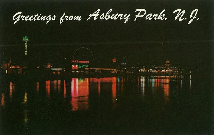 Wesley Lake by Night