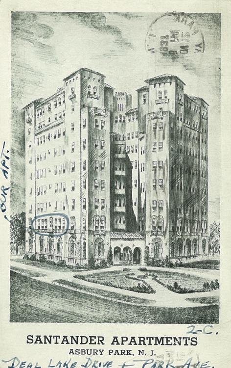 The Santander Apartments, Asbury Park
