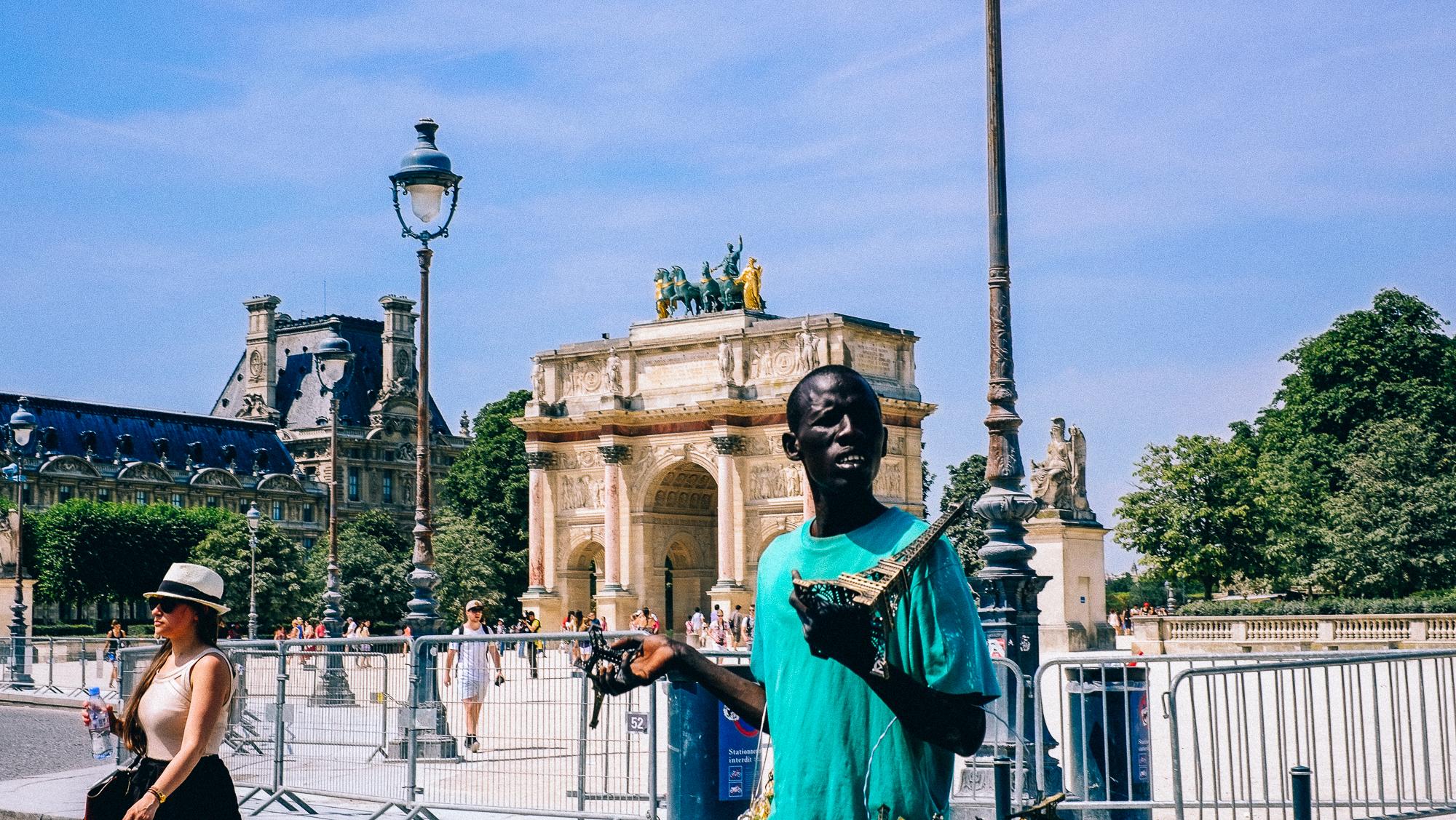 In Paris, not of Paris